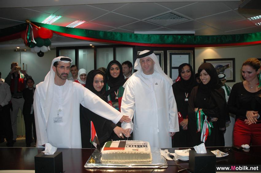 الهيئة العامة لتنظيم الاتصالات تحتفل بالعيد الوطني الأربعين لدولة الإمارات