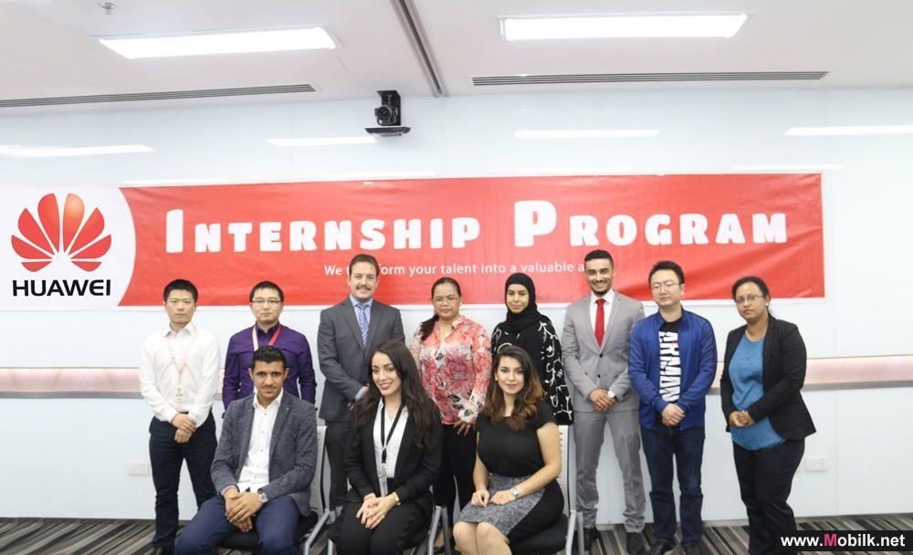 Huawei's on-the-job training program continues for Bahraini Undergraduates