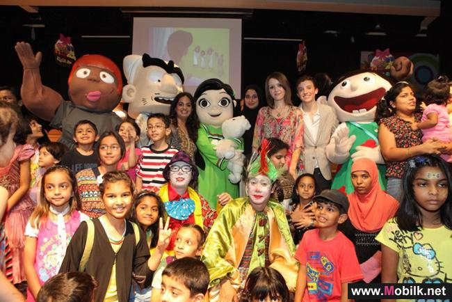 اتصالات الامارات تحتفل مع  مدينة الطفل في دبي بمناسبة حقّ الليلة