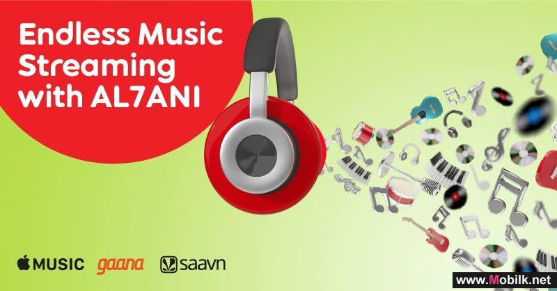 Create Your Favourite Music Playlist with Ooredoo's AL7ANI