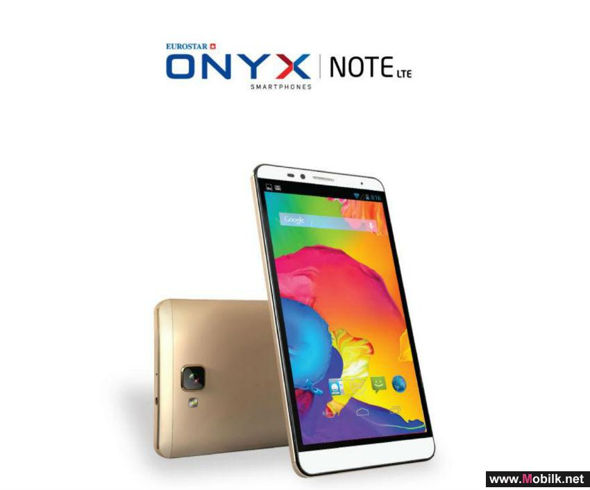 Eurostar launches ONYX smartphones in Distree ME