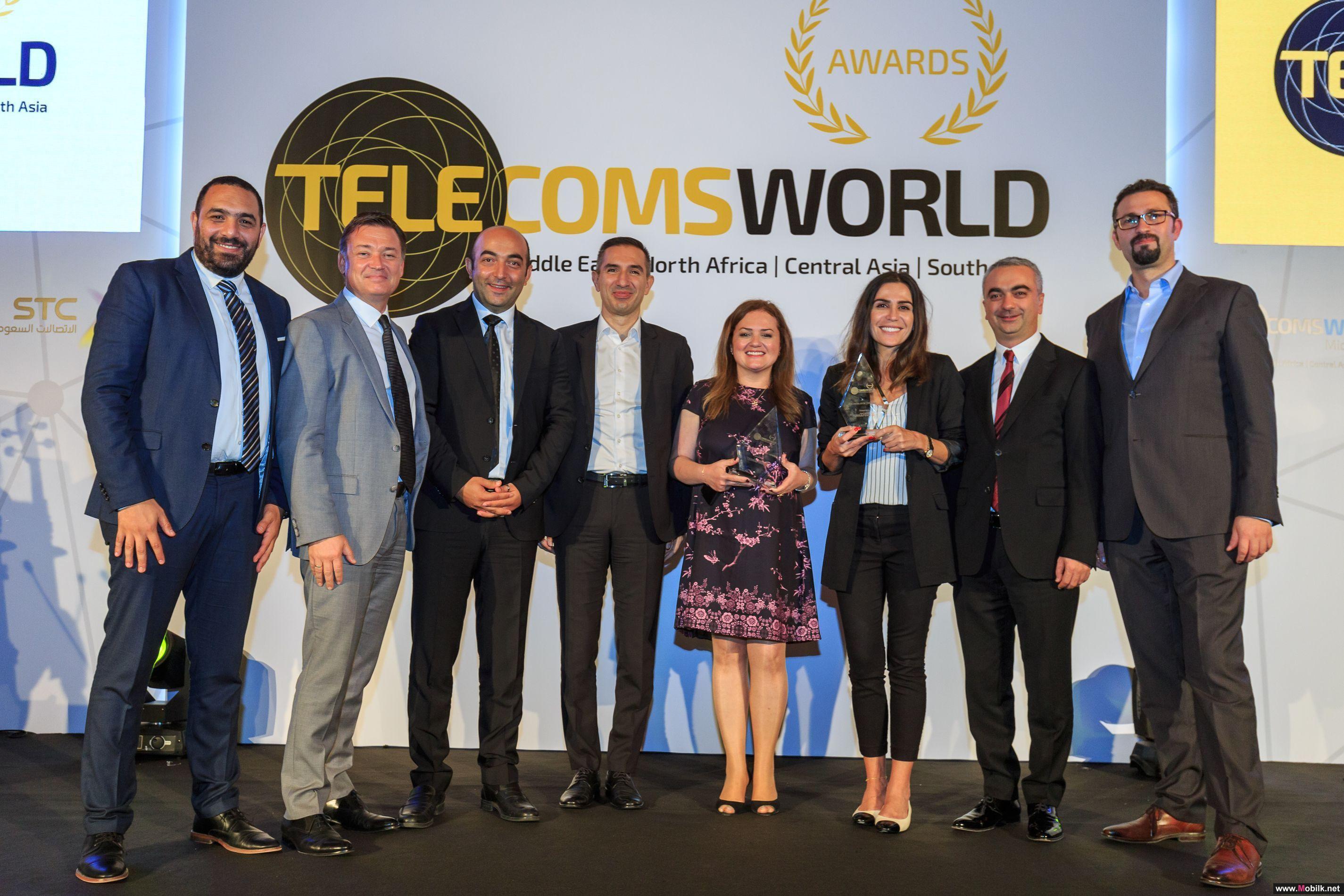 اريكسون تفوز بجائزة الشركة المبتكرة لتقنية الجيل الخامس لعام 2018