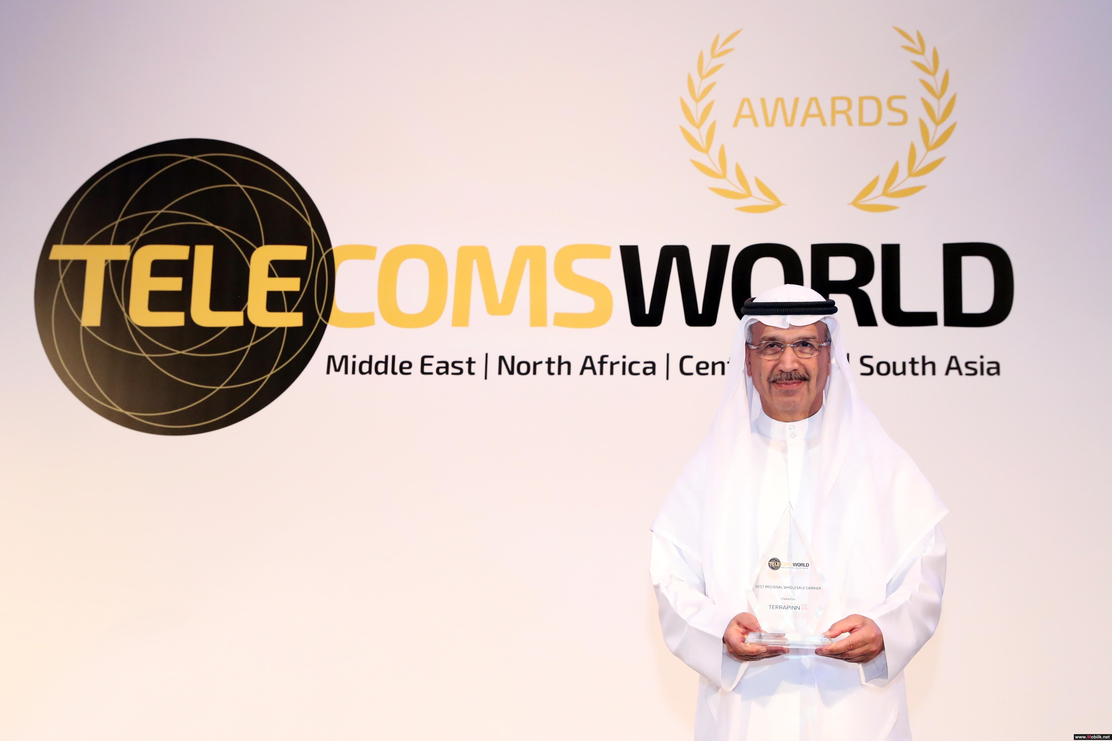 Etisalat Named 'Best Regional Wholesale Carrier' at Telecoms