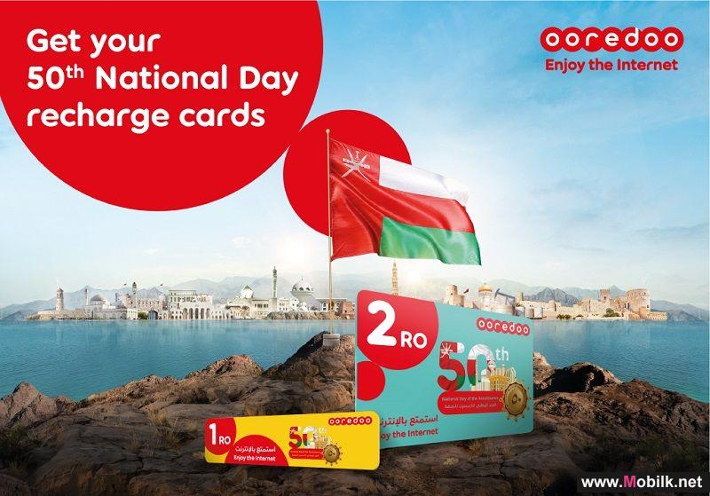 Grab a Limited Edition 50th National Day Recharge Card from Ooredoo