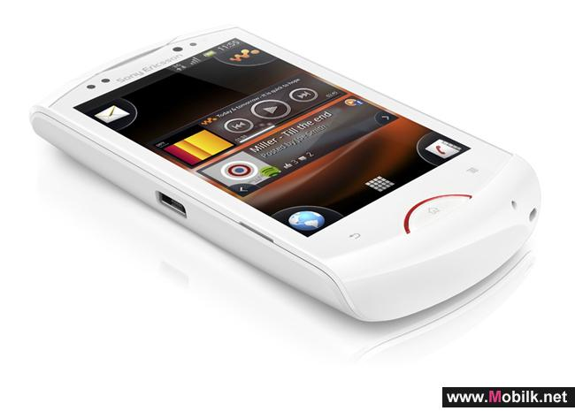 Sony Ericsson Live with Walkman™ Delivers Unique Social Music Experience for Smartphones