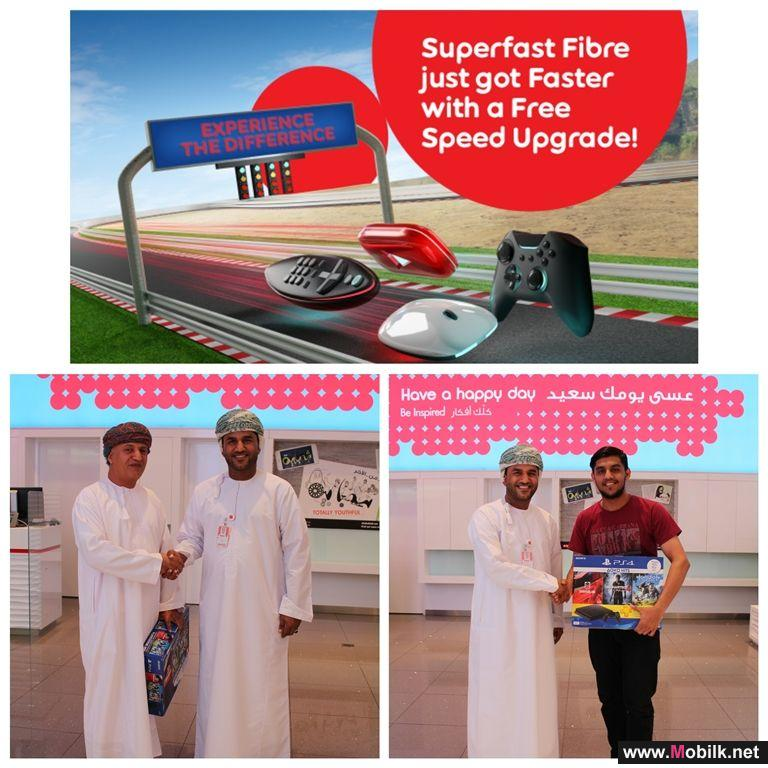 Five Lucky Winners Receive Playstation 4 from Ooredoo speed upgrade promotion