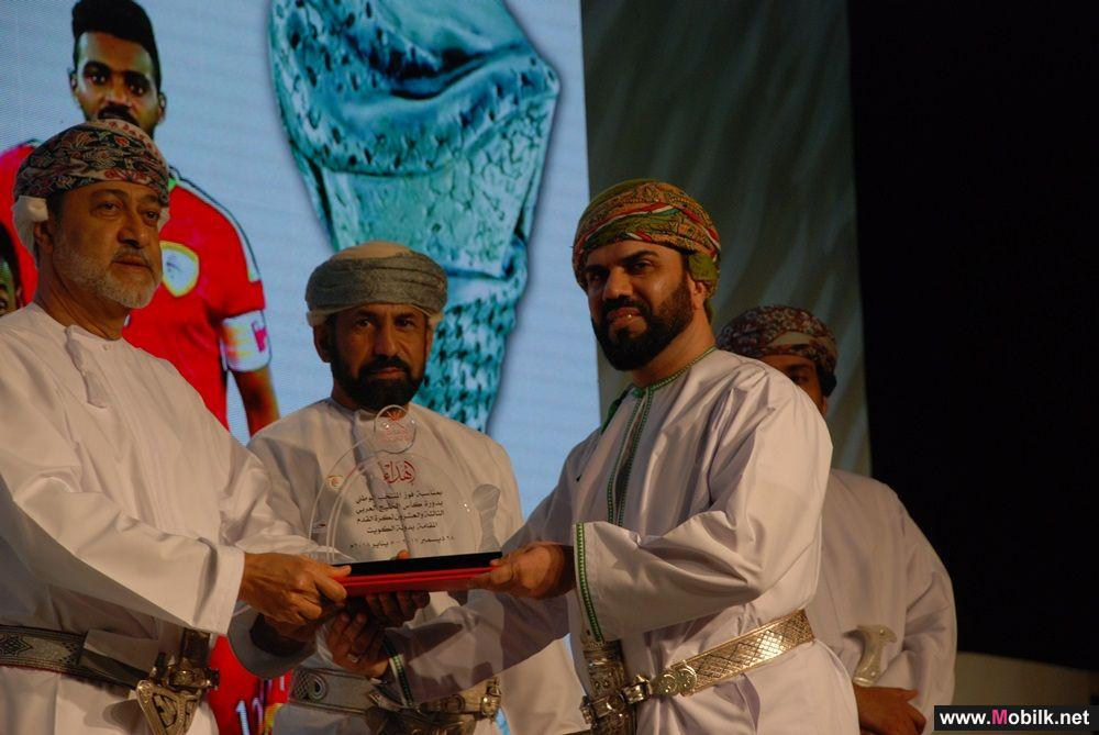 The Ministry of Sports Affairs and the Oman Football Association Honours Ooredoo for its contribution to the Gulf cup 23