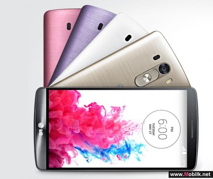 هاتف LG G3 يحصل على تحديث مارشملو الشهر القادم