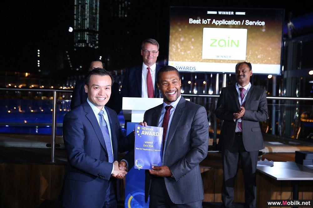 Zain Saudi Arabia Awarded Best IoT Application/Service in 5G MENA Conference