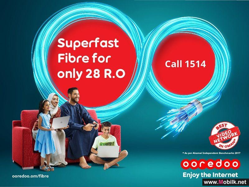 Ooredoo's Super Fibre will be available in Mabela, Al Khodh and Al Amerat