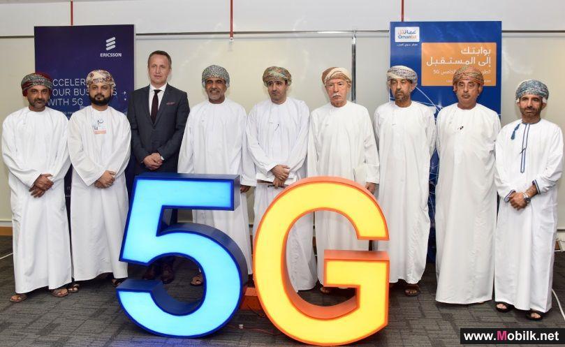 Omantel, Ericsson showcase 5G experience