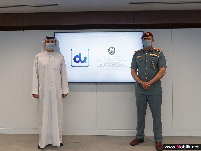 Dubai Civil Defense partners with du to become first military entity in the UAE to be blockchain-powered and accelerate digital transformation