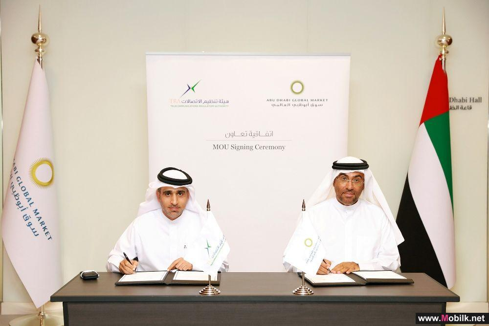 TRA and Abu Dhabi Global Market Sign an MoU on Information Security