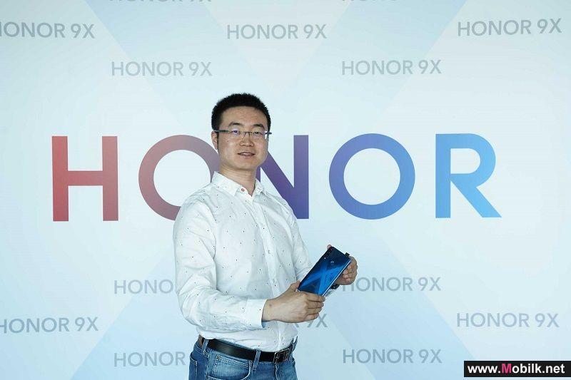 الكشف عن HONOR 9X  بشاشة عرض كاملة وكاميرا ثلاثية بدقة 48 ميجابكسل