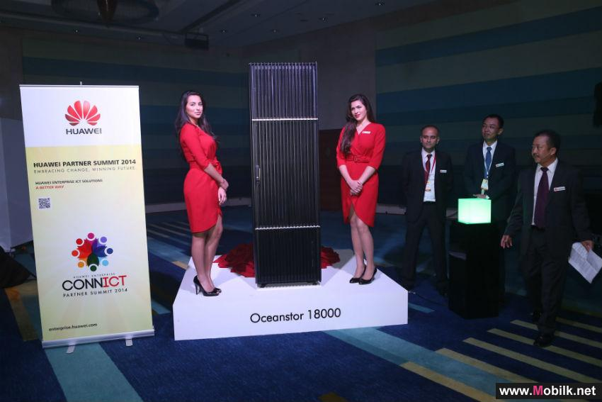 Huawei Debuts Latest OceanStor 18000 to Power Up Large Businesses on Digital Frontier