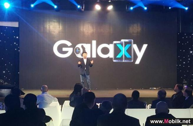 سامسونج الكترونيكس المشرق العربي وشركة BCI تكشفان عن هواتف جالاكسي إس 7 وجالاكسي إس7 إيدج