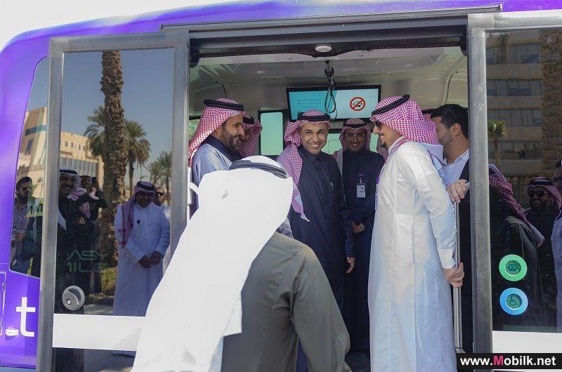 لأول مرة في الشرق الأوسط ... إطلاق حافلة ذاتية القيادة بتقنية  5G