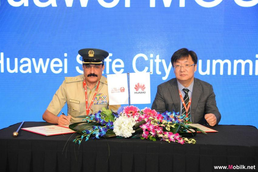 Huawei and Dubai Police Join Forces to Make Dubai a Safer City through Innovation