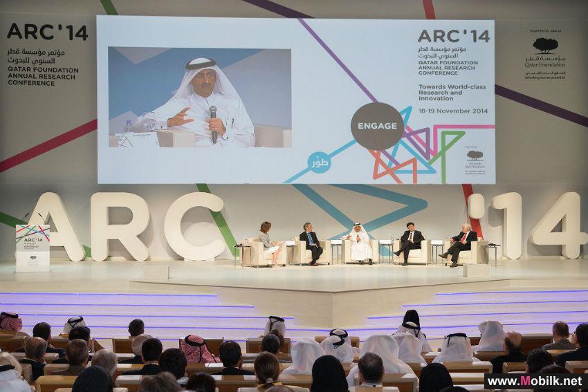 مؤتمر مؤسسة قطر السنوي للبحوث يُسّلط الضوء على الابتكار في التكنولوجيا وريادة الأعمال