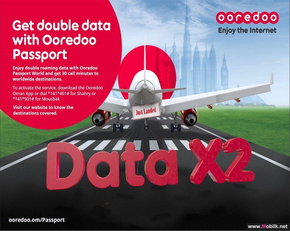 خدمة جواز Ooredoo العالم تُضيف قيمة مضاعفة لباقات التجوال