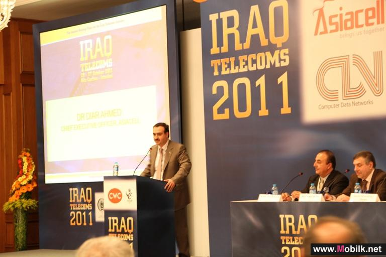 Asiacell Platinum Sponsor of 6th Iraq Telecoms 2011 Conference