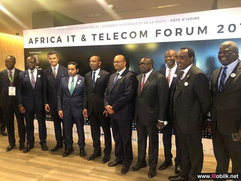 الهيئة العامة لتنظيم قطاع الاتصالات تعرض تجربة الإمارات الرقمية في المنتدى الإفريقي للاتصالات وتقنية المعلومات بساحل العاج