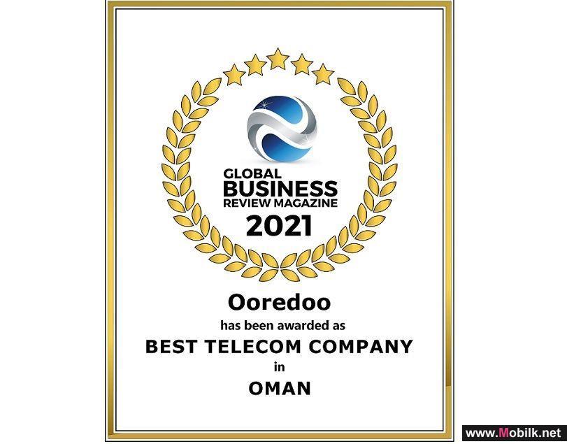 Ooredoo تحقق فوزاً مزدوجاً ضمن جوائز مجلة الأعمال الدولية لعام 2021