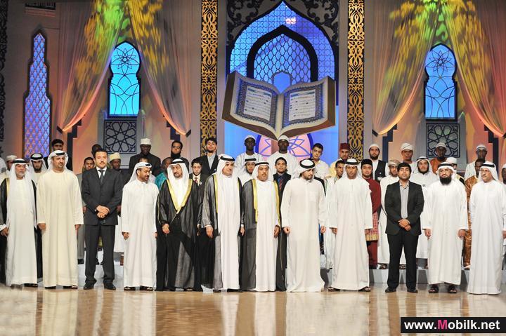أحمد بن محمد بن راشد آل مكتوم يكرِّم اتصالات الامارات