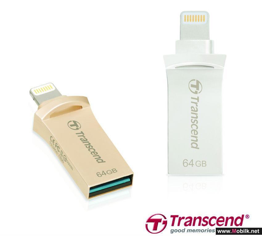 ترانسيند تطلق سلسلة وسائط تخزين مبتكرة لنسخ البيانات من أجهزة آيفون وآيباد وآيبود بصورة فورية