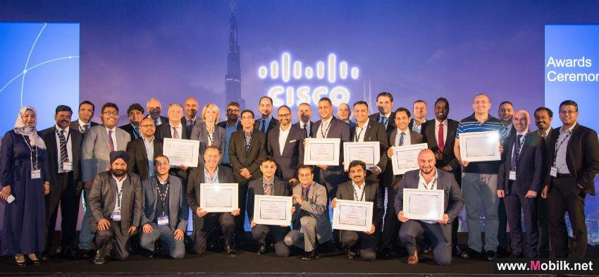 Cisco Honours Top Performing Partners at its UAE Partner Summit
