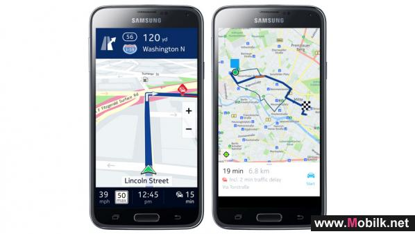 HERE for Samsung: Fresh maps for the new Samsung Gear S