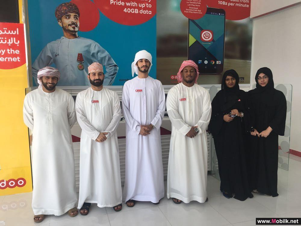 Ooredoo تفتتح أوّل صالة امتياز في محافظة البريمي