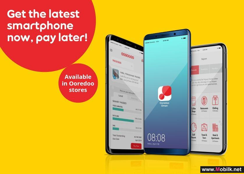 Get the Latest Smartphones with Zero Down-Payment with Ooredoo's Shahry Instalment Plans
