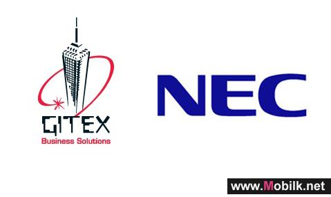 NEC showcases wide spectrum of solutions for Middle East SMB and Enterprise markets with an Enhanced Presence at Gitex 2011