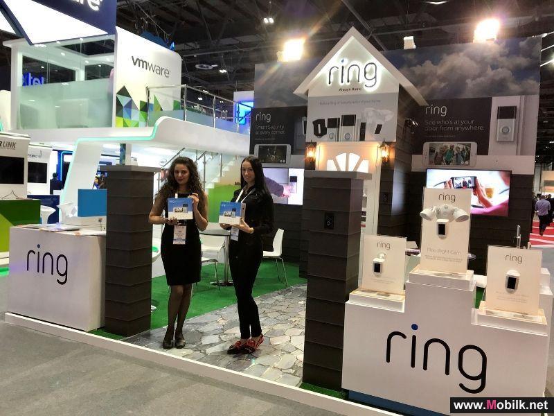 رينغ تستعرض منتجاتها وحلولها المبتكرة للأمن المنزلي خلال فعاليات جيتكس