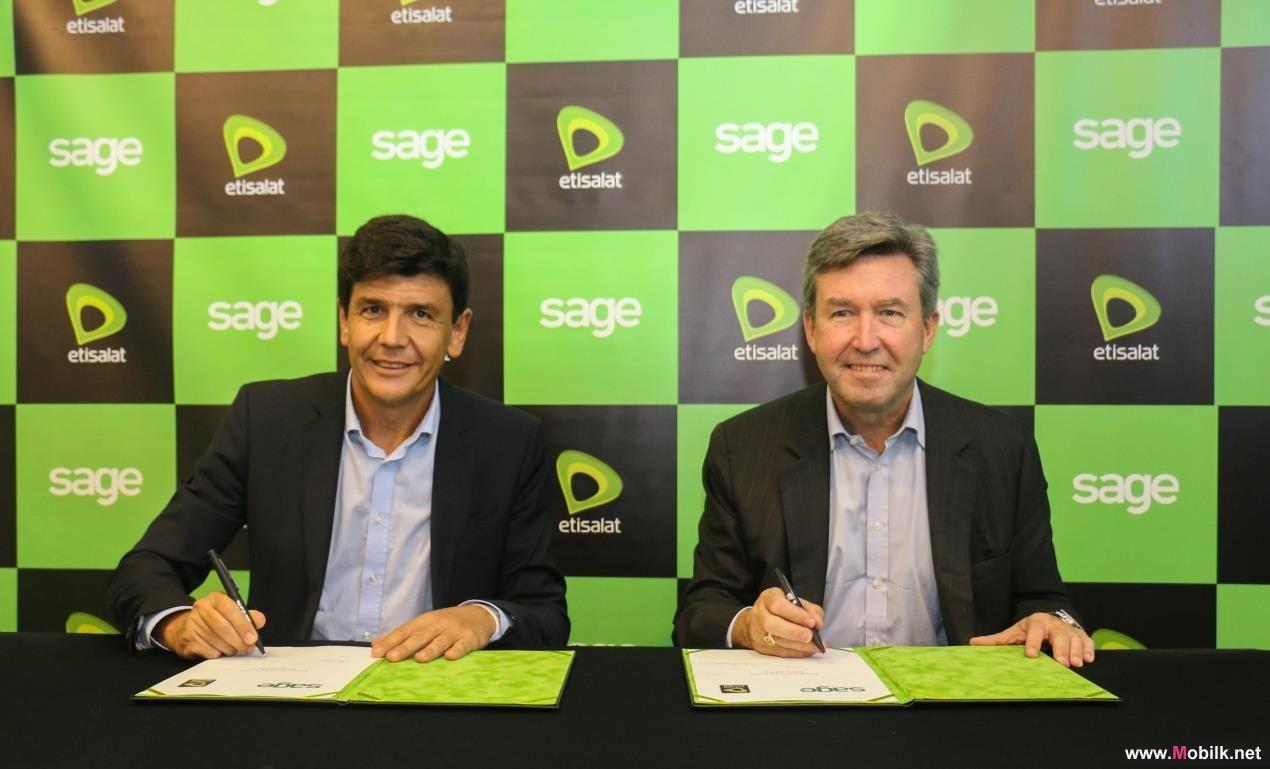 Etisalat Partners with Sage to Offer Cloud Accounting Solutions for Small and Medium Businesses