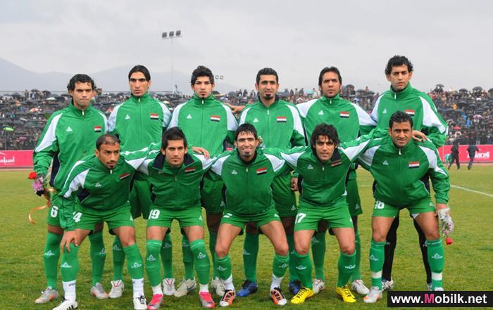 آسياسيل ترعى المنتخب العراقي لكرة القدم في التصفيات المؤهلة لكأس العالم لكرة القدم 2014