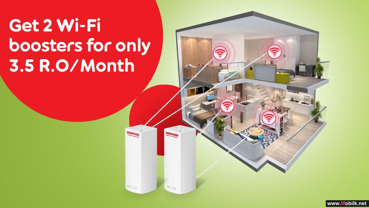 Ooredoo Introduces WiFi boosters Installment Plans