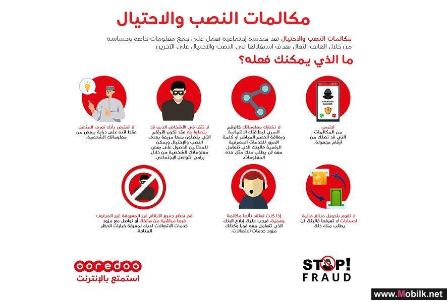 Ooredoo تطلق حملة توعوية حول سُبل مكافحة الاحتيال الإلكتروني