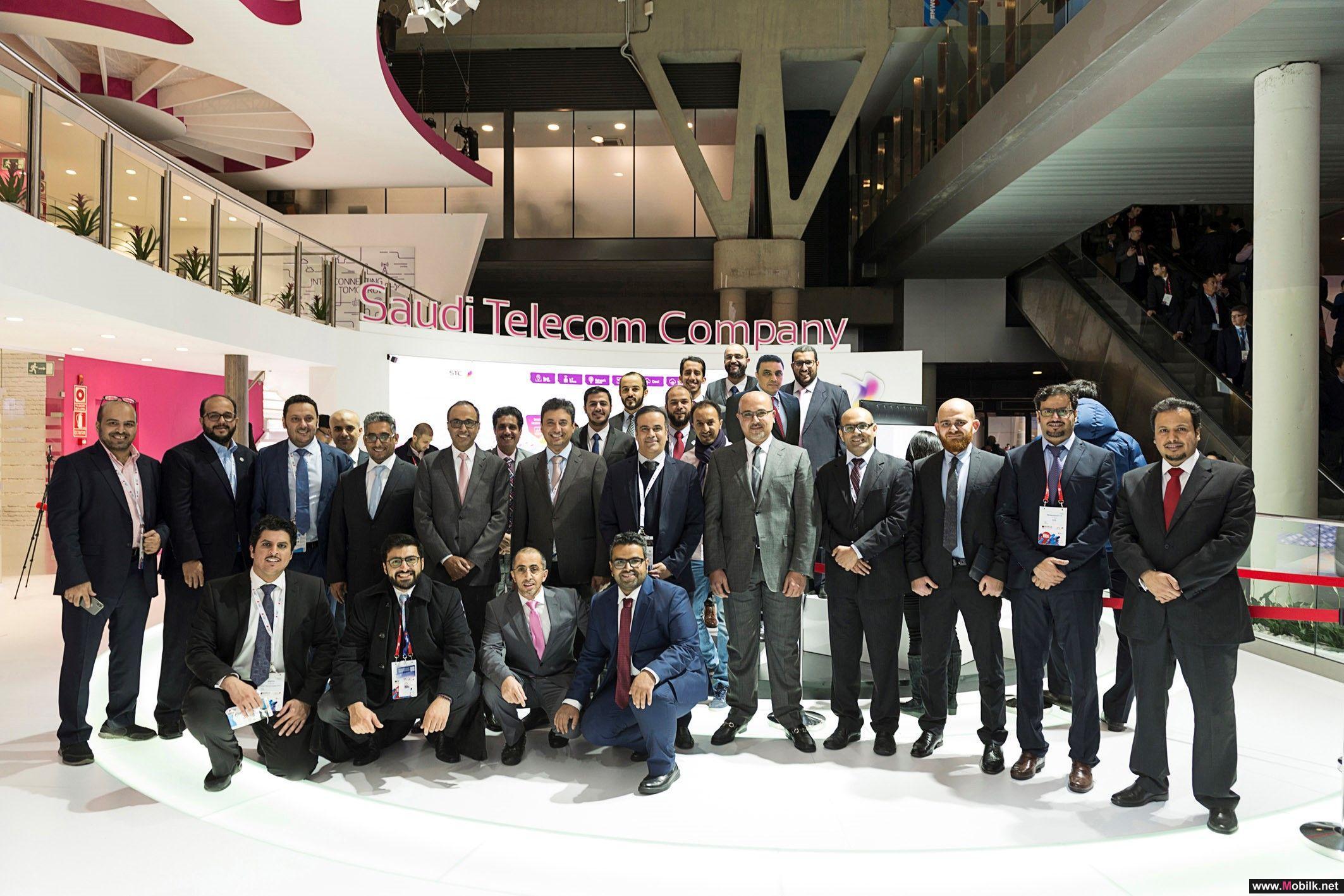 الاتصالات السعودية تسجل حضورا لافتا مع كبرى الشركات العالمية في المعرض العالمي للجوال ببرشلونة