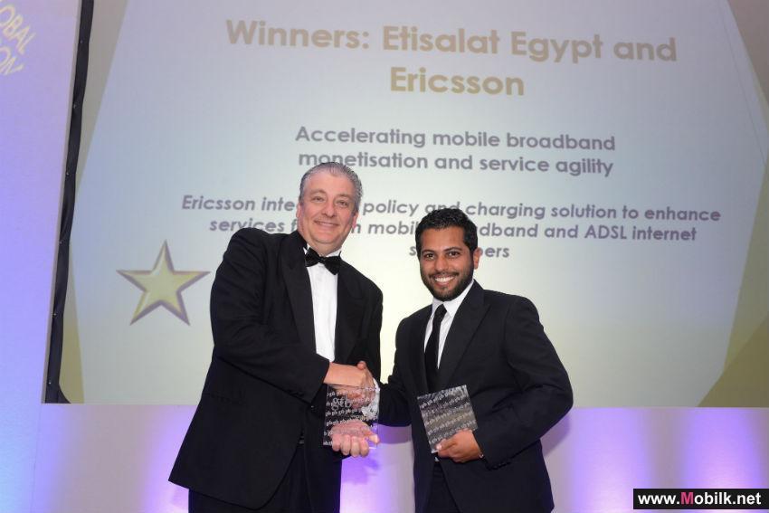 إريكسون واتصالات مصر تفوزان بجائزة الاتصالات العالمية للابتكار في خدمة الأعمال 2015