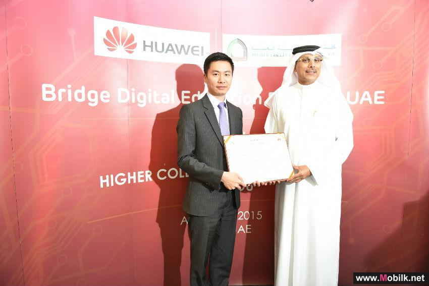 Huawei & Higher Colleges of Technology Sign MOU to Bridge Digital Education Divide in UAE