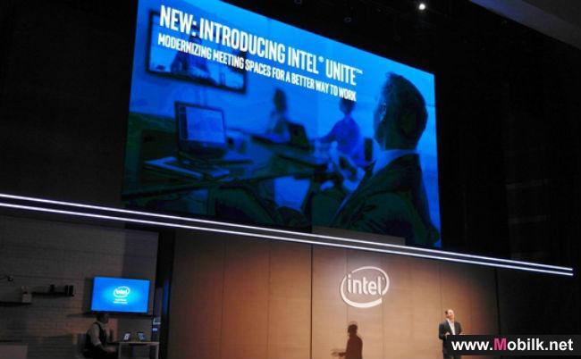 إنتل تطلق برنامج العمل التعاوني Intel Unite في الإمارات خلال جيتكس 2015