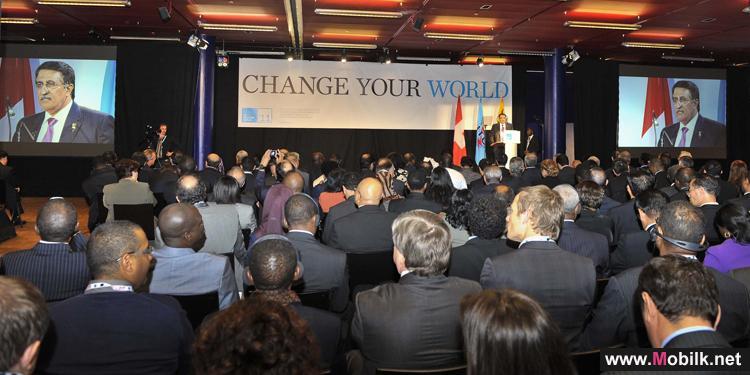 كلمة رئيس مجلس إدارة كيوتل في المؤتمر العالمي للاتصالات الدولية ITU