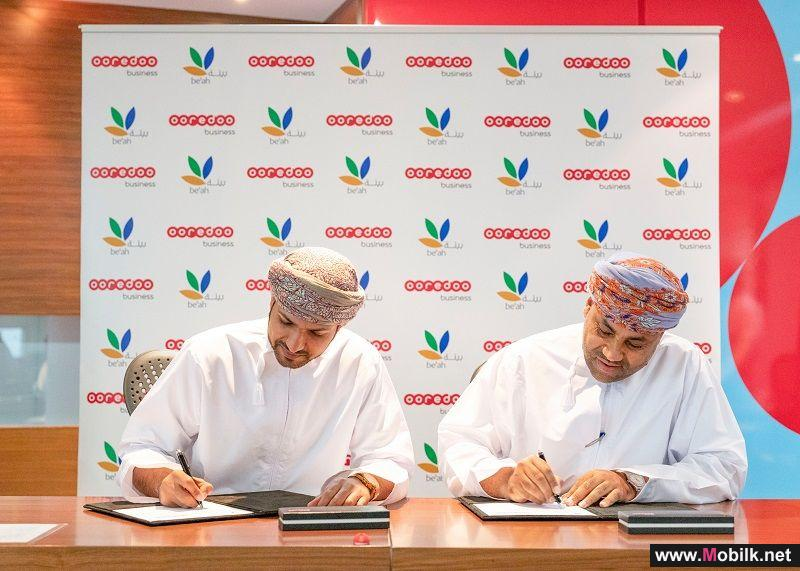 Ooredoo Signs MoU with be'ah for the Safe Disposal of Waste
