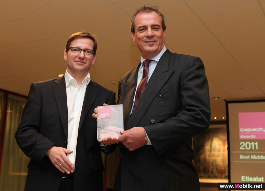 اتصالات تحصد جائزة أفضل مزود لخدمات المشغلين والمبيعات بالجملة في الشرق الأوسط اللسنة الرابعة على  التوالي