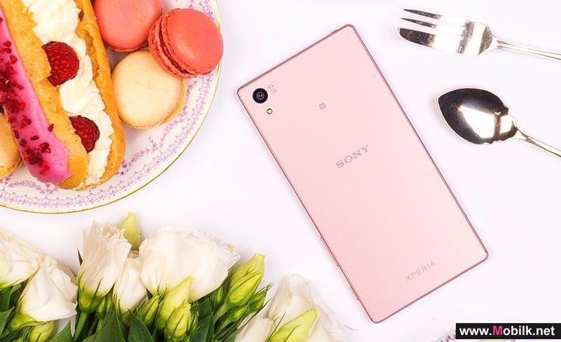 سوني» تعلن رسمياً عن نسخة وردية من هاتفها «Xperia Z5 Premium»