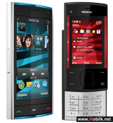 Nokia X6 and X3 start Nokia World