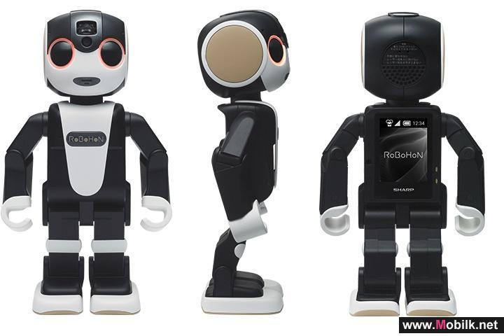 شارب تكشف عن أول هاتف روبوت في العالم