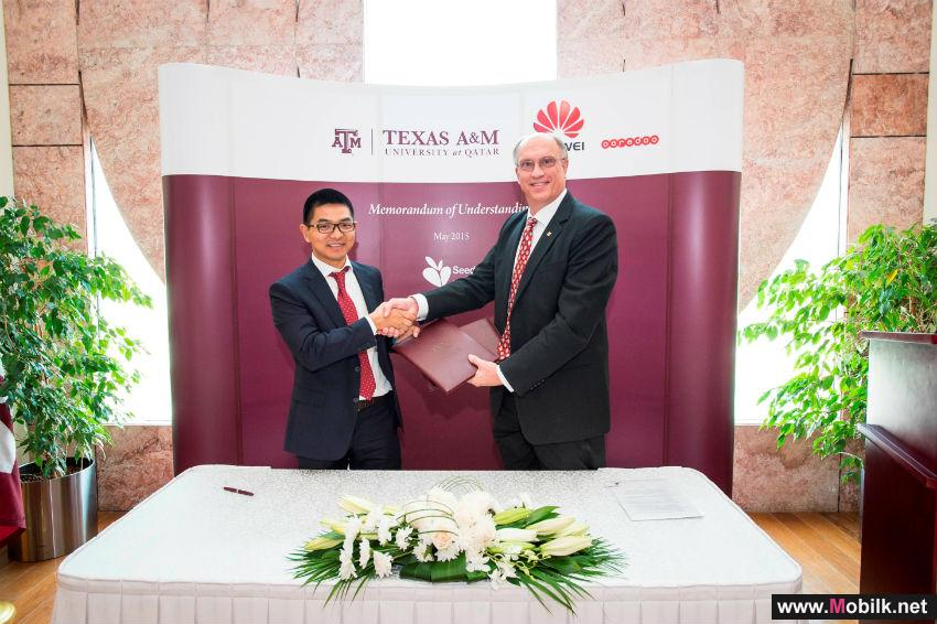 Texas A&M University at Qatar, Huawei and Ooredoo  Build Global Education Alliance